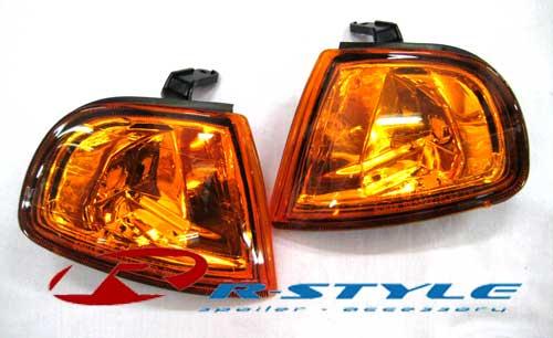 ไฟมุมเพชรสีส้ม สำหรับ HONDA PREDULE BY SONAR R-Style Racing ชุดแต่งรอบคัน และ ประดับยนต์