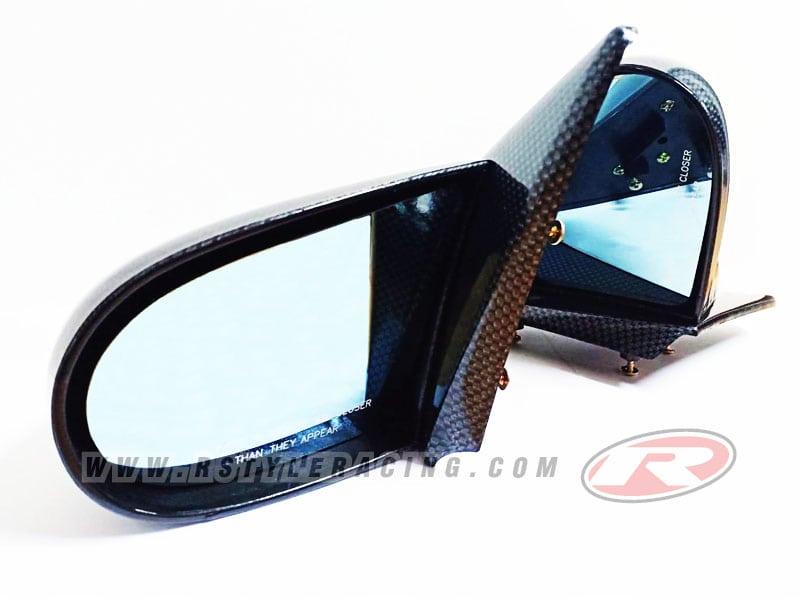 กระจก CARBON-LOOK สำหรับ HONDA CIVIC 1992 3D/SPOON  R-Style Racing ชุดแต่งรอบคัน และ ประดับยนต์